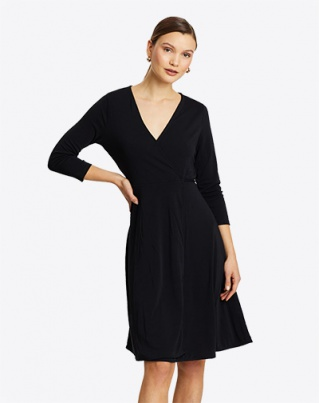 Florence Shirring Midi Dress